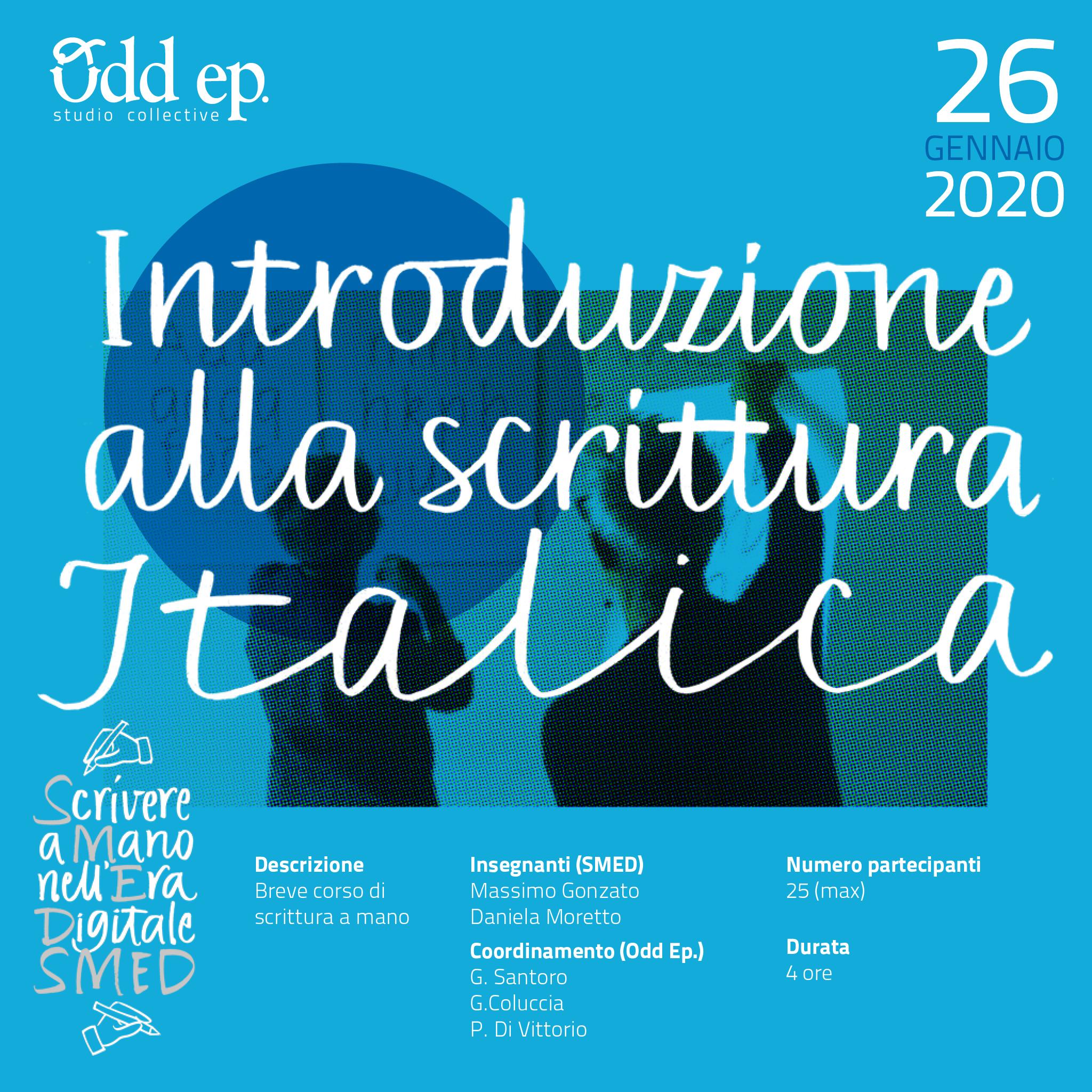 Breve corso d'Introduzione alla scrittura Italica